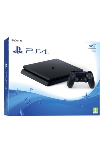 PS4 500 GB Slim Tek Kol-Sony